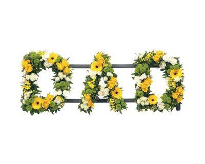 Dad Floral Tribute