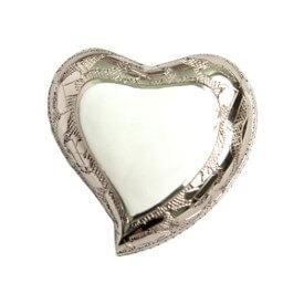 Marble White Heart