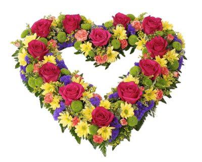 Vibrant Open Heart