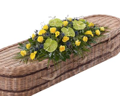 Woodland Double Ended Casket Spray